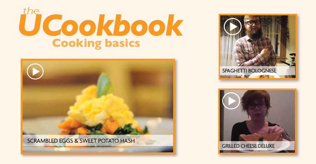 UCookbook: Cooking basics