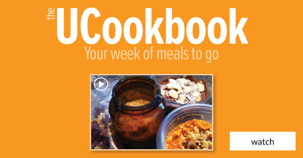 UCookbook: Your week of meals to go