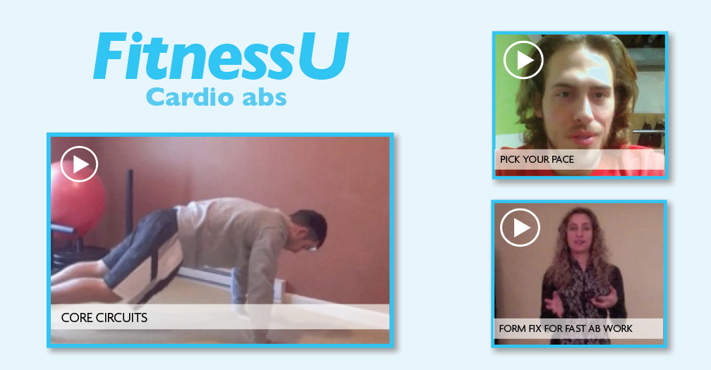 FitnessU: Cardio abs