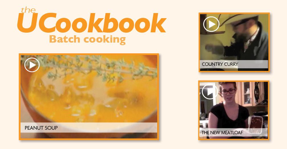 UCookbook: Batch cooking