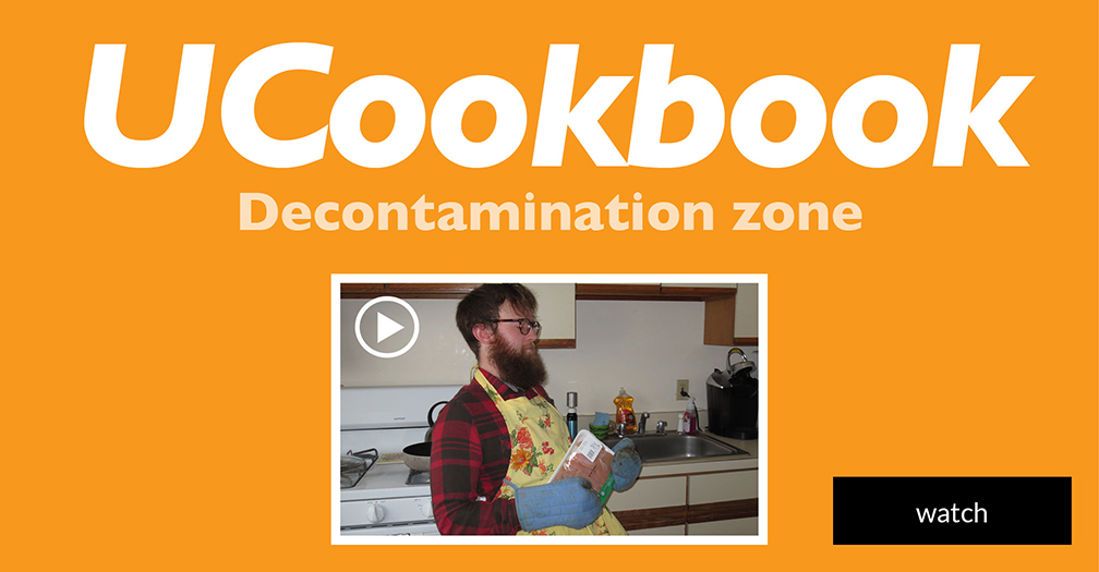 UCookbook: Decontamination zone