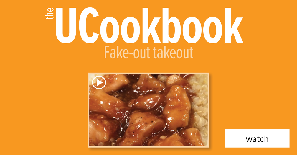 UCookbook: Fake-out takeout