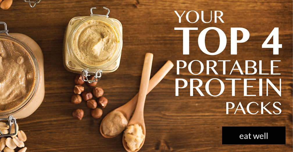 Your top 4 portable protein packs