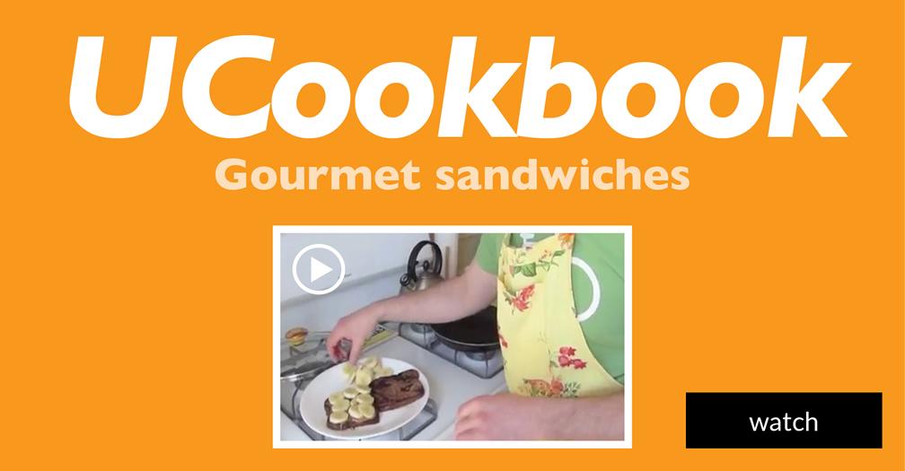 UCookbook: Gourmet sandwiches