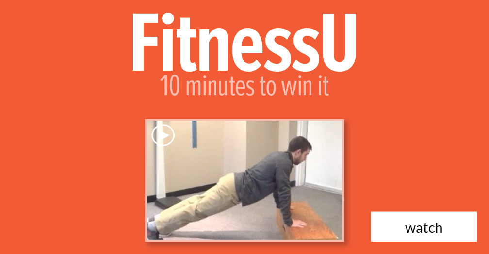 FitnessU: 10 minutes to win it