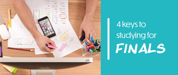 4 keys to studying for finals
