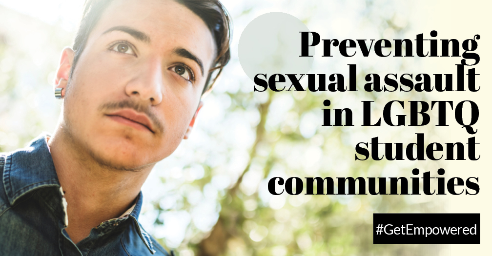 Preventing sexual assault in LGBTQ student communities