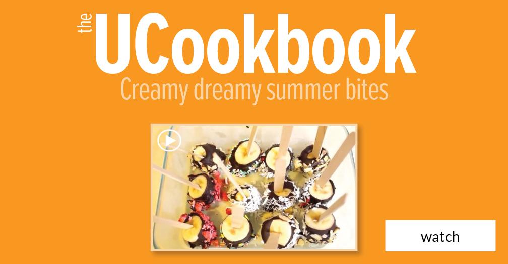 UCookbook: Creamy dreamy summer bites
