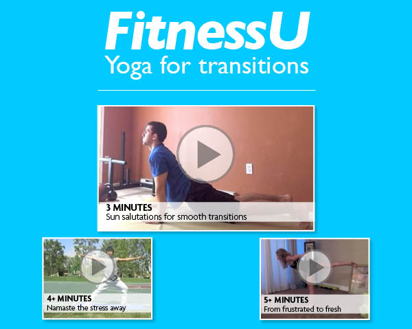 FitnessU: Yoga for transitions