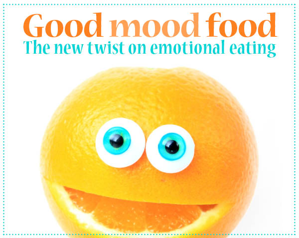 Good mood food: The new twist on emotional eating