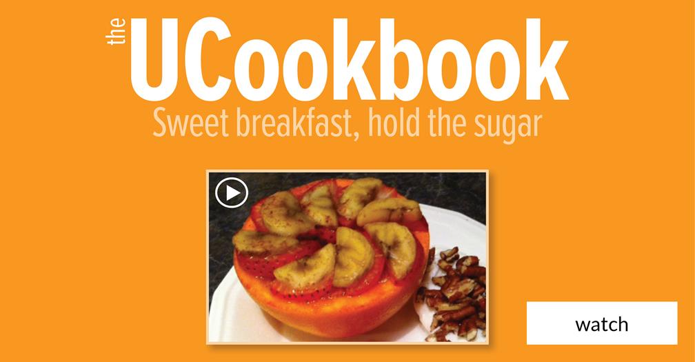 UCookbook: Sweet breakfast, hold the sugar
