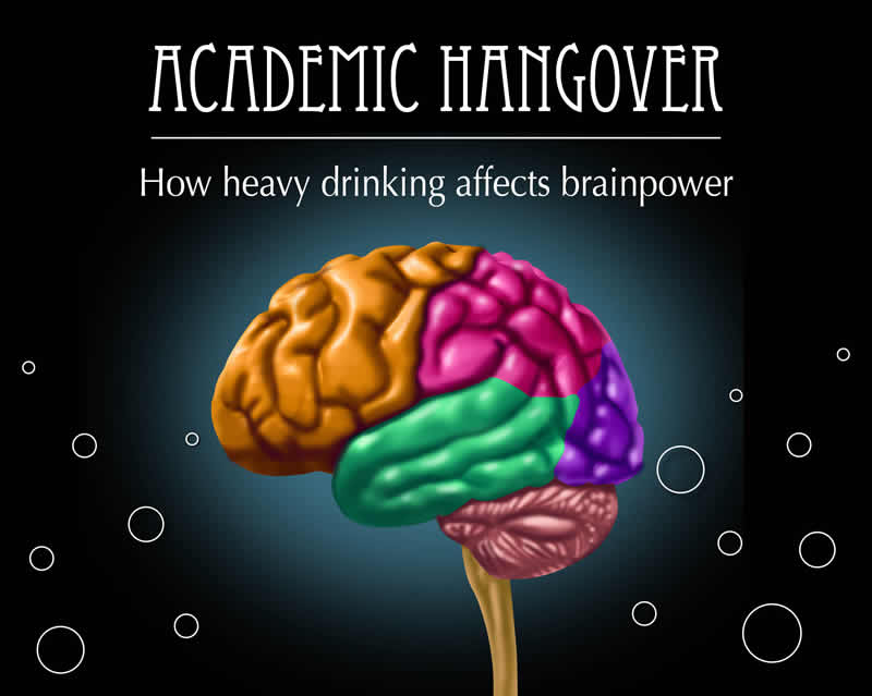 Academic hangover: How heavy drinking affects brainpower