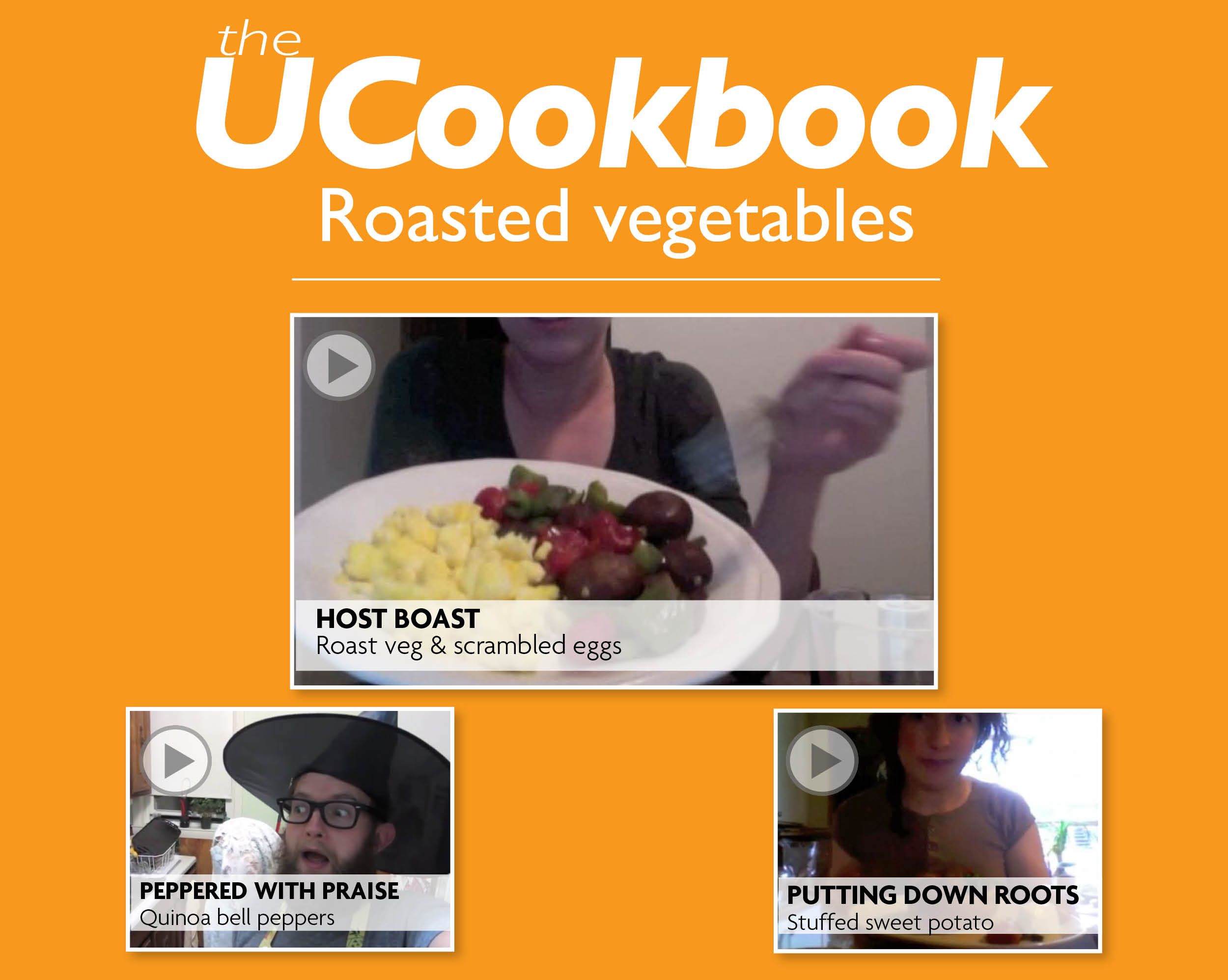 UCookbook: Roasted vegetables