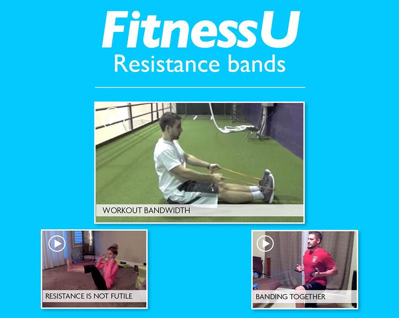 FitnessU: Resistance bands