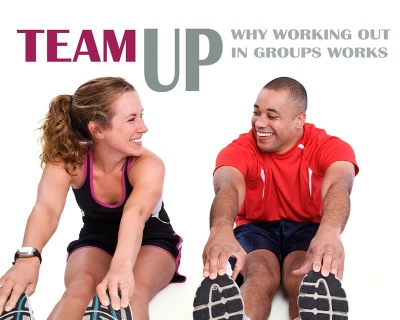 Team up: Why working out in groups works
