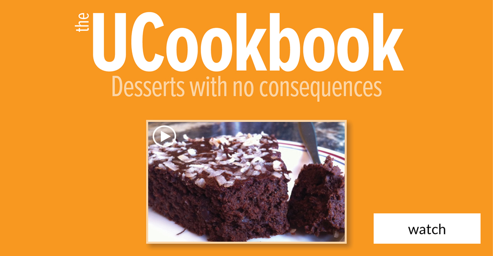 UCookbook: Desserts with no downside