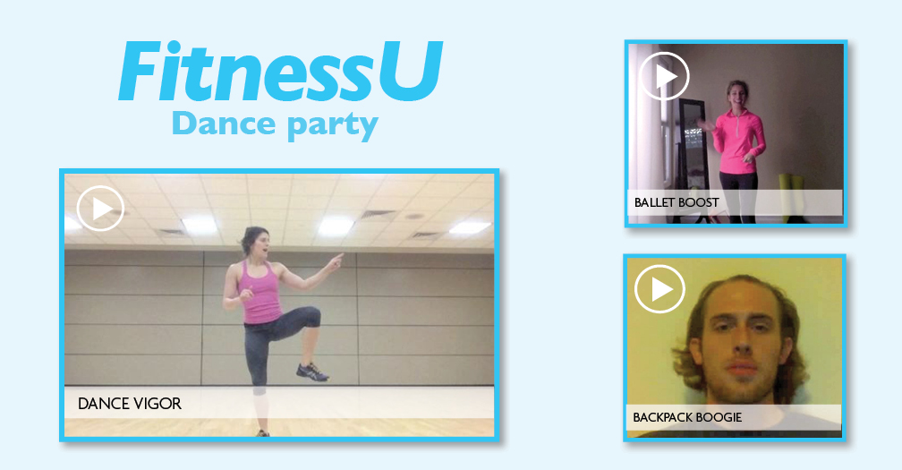 FitnessU: Dance party