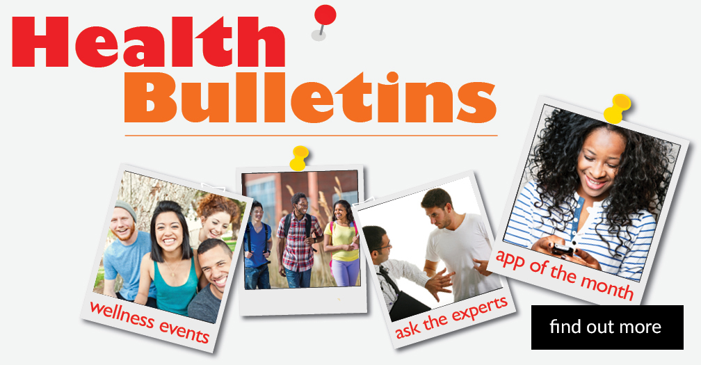 Check out the latest health bulletins