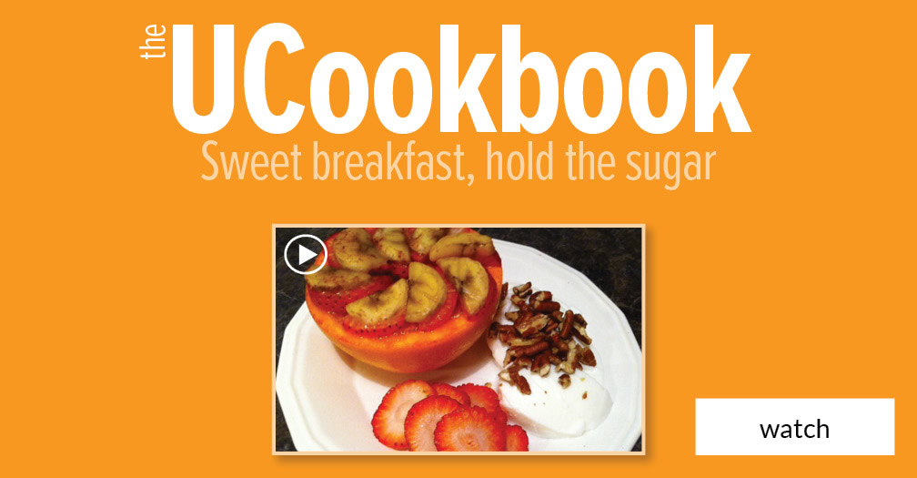 UCookbook: Sweet breakfast, hold the sugar