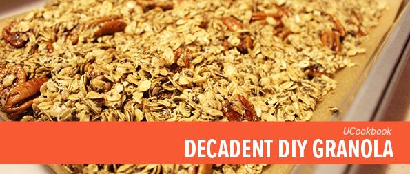 UCookbook: Decadent DIY granola